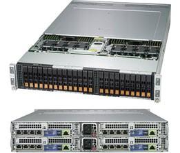 SYS-2029BZ-HNR - 2U 4 Nodes - BigTwin Server Barebone
