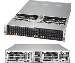 SYS-2029BT-DNC0R - 2U 2 Nodes - Server Barebone