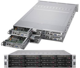 SYS-6029TR-HTR - 2U 4 Nodes - Server Barebone